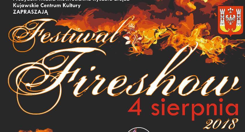 Festyny, Festiwal Fireshow inowrocławski Rynku - zdjęcie, fotografia