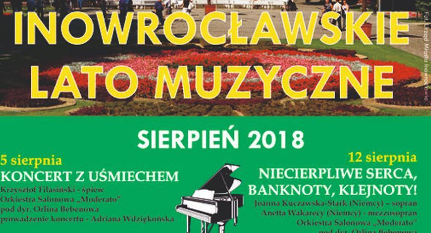 Koncerty, Koncerty Muzycznego także sierpniu - zdjęcie, fotografia