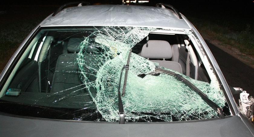 Wypadki drogowe , Śmiertelny wypadek Łojewie - zdjęcie, fotografia