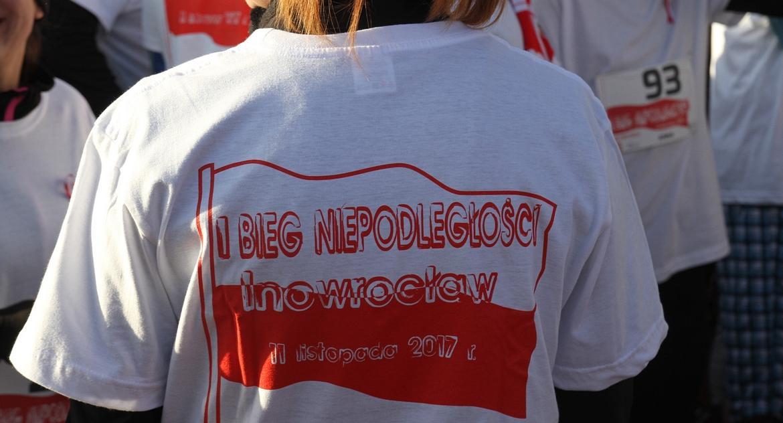 Biegi, listopada Niepodległości! - zdjęcie, fotografia