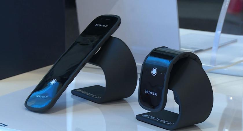Technologie, Rynkowa premiera elastycznego smartfona tylko kwestia czasu - zdjęcie, fotografia