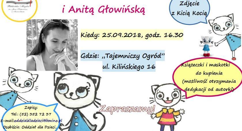 Książki, Popołudnie Kicią Kocią Anitą Głowińską - zdjęcie, fotografia