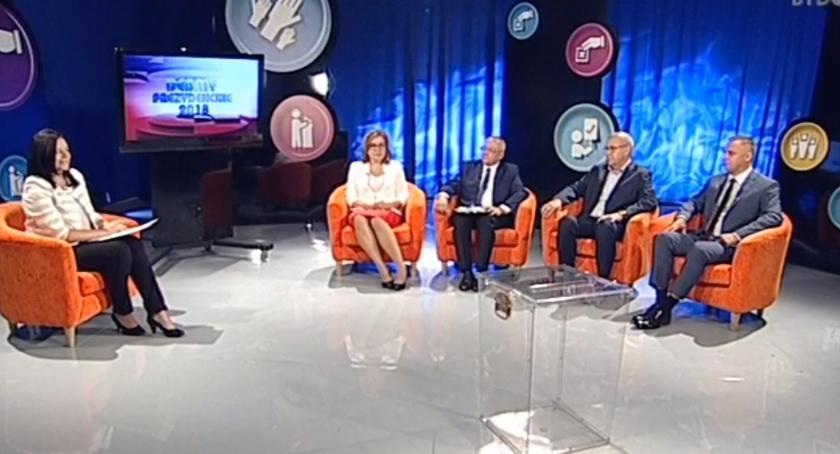 wybory, Pierwsza debata kandydatów prezydenta - zdjęcie, fotografia