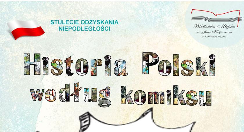 """Historia, Wystawa """"Historia Polski według komiksu"""" - zdjęcie, fotografia"""