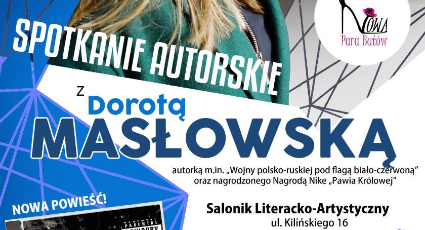 Książki, wojna polsko ruska nadal Odpowiada Dorota Masłowska - zdjęcie, fotografia