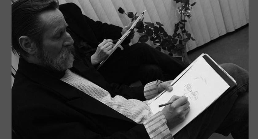 Poezja, Zmarł Roman Senski inowrocławski artysta - zdjęcie, fotografia