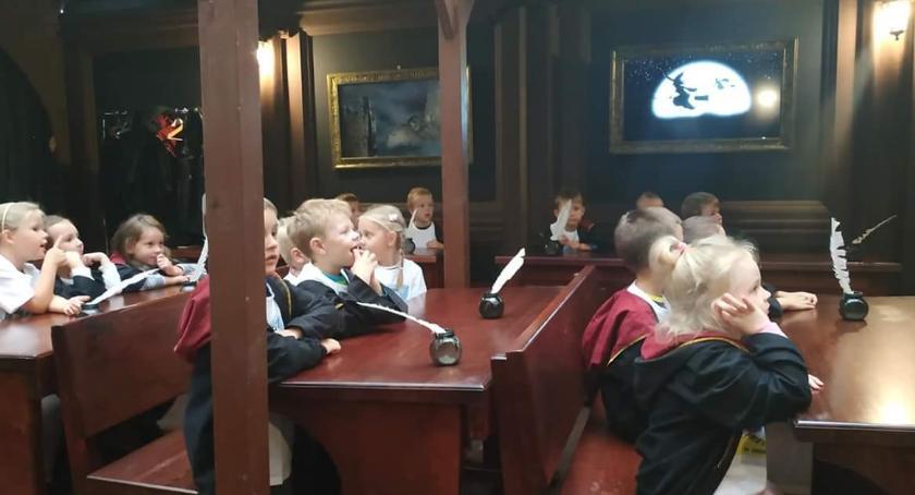 przedszkola, Kujawskie dzieci szkole magii - zdjęcie, fotografia