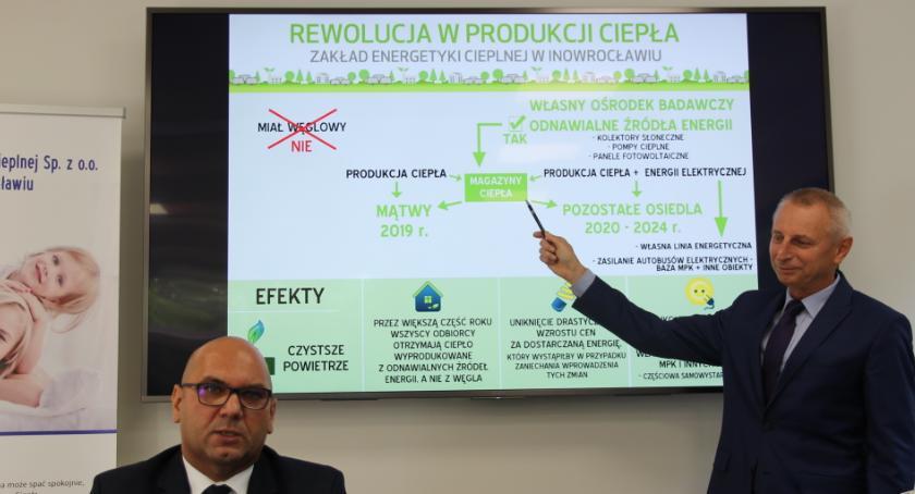Gospodarka, Rewolucja produkcji ciepła Inowrocławiu - zdjęcie, fotografia