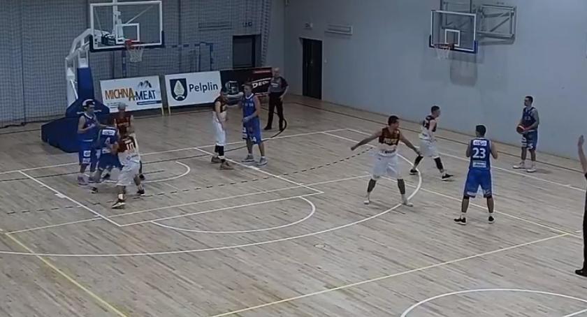 Koszykówka, Decka Pelplin pokonał Noteć - zdjęcie, fotografia