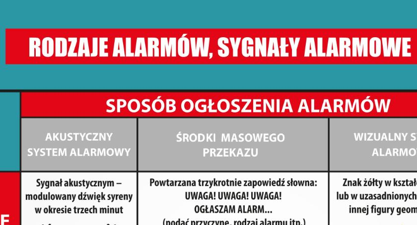 Komunikaty, Zawyją syreny alarmowe - zdjęcie, fotografia