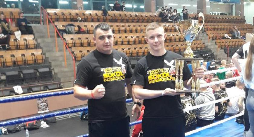Sporty walki, Złoty medal Patryka Karolewskiego - zdjęcie, fotografia