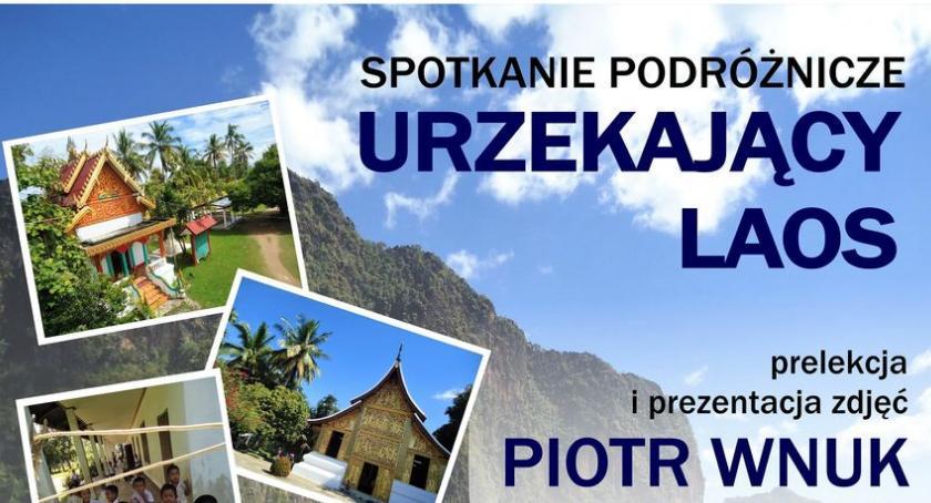 turystyka, Spotkanie podróżnikiem Piotrem Wnukiem - zdjęcie, fotografia
