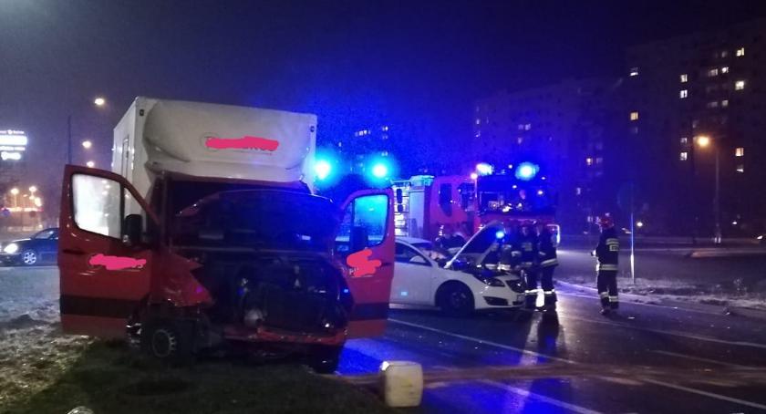 Wypadki drogowe , Rąbinie znowu wypadek - zdjęcie, fotografia
