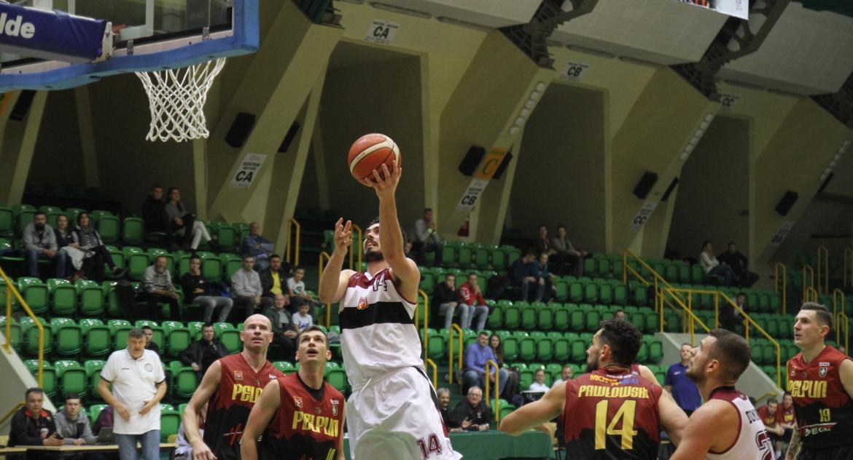 Koszykówka, Minimalna porażka Domino liderem - zdjęcie, fotografia