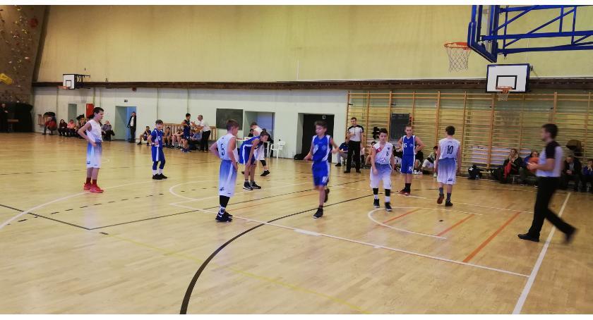 Koszykówka, Trudny Inowrocławskiej Akademii Koszykówki - zdjęcie, fotografia