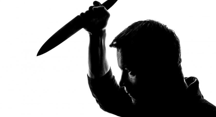 Sprawy kryminalne , Usłyszał zarzut rozboju nożem - zdjęcie, fotografia