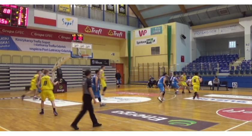 Koszykówka, Wyjazdowa wygrana Noteci - zdjęcie, fotografia