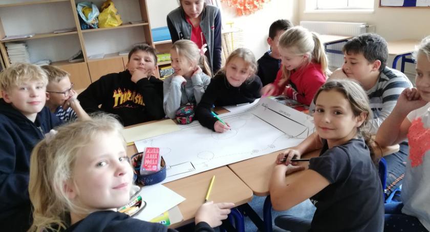 szkoły podstawowe, Uniwersytet Dzieci uczniowie szkoły Inowrocławiu szczycie klimatycznym Katowicach! - zdjęcie, fotografia