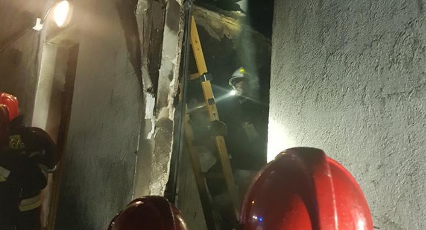 Straż Pożarna - interwencje , Pożar Matwach - zdjęcie, fotografia