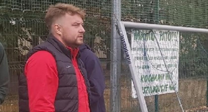Piłka nożna, trener Cuiavii Inowrocław - zdjęcie, fotografia