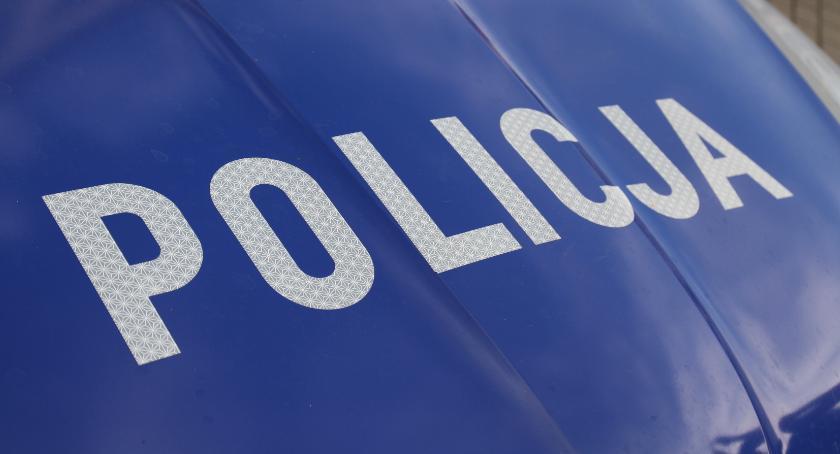 Komunikaty Policja, Policyjny drogowy! - zdjęcie, fotografia