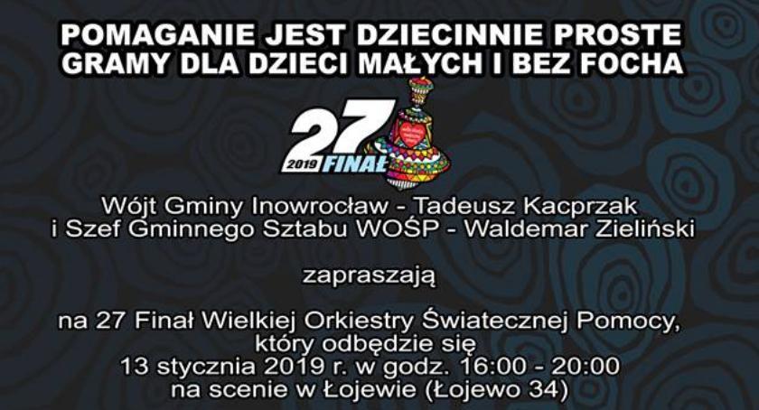 WOSP, WOŚP Gminy Inowrocław - zdjęcie, fotografia