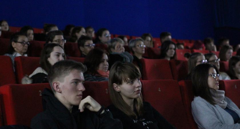 Kino, Wigilijna Opowieść inowrocławskim kinie - zdjęcie, fotografia