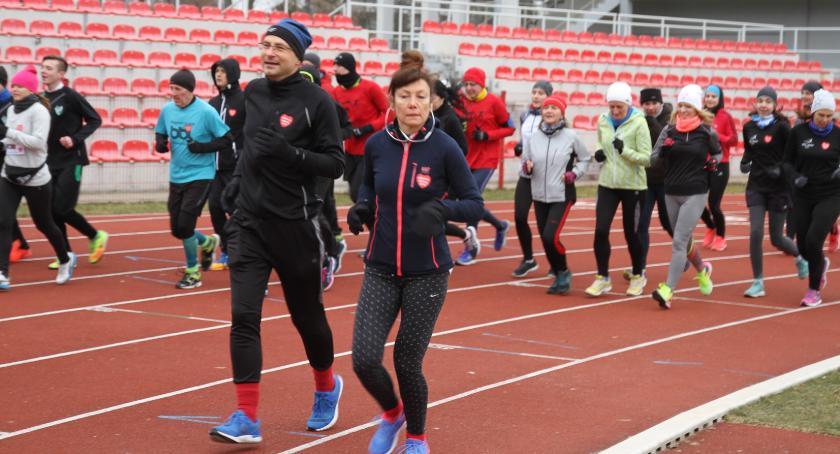 WOSP, Wielkie bieganie ramach WOŚP - zdjęcie, fotografia