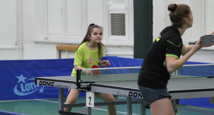 Tenis stołowy, Noteć przegrywa swojej - zdjęcie, fotografia