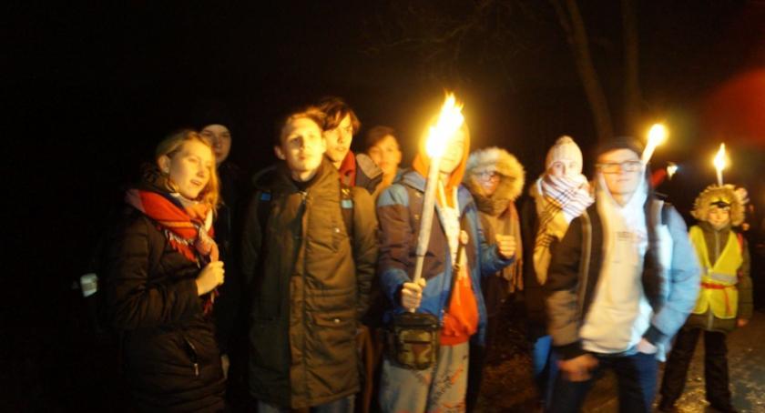turystyka, Nocny Marsz Kościelcu - zdjęcie, fotografia
