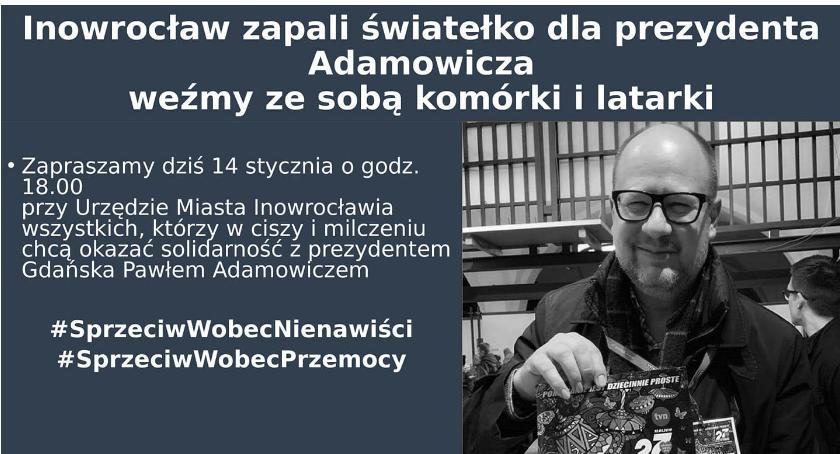 Komunikaty, Uczczą pamięć prezydenta Gdańska - zdjęcie, fotografia