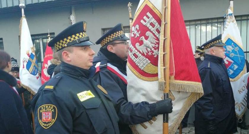 Samorząd, Inowrocławski sztandar Gdańsku - zdjęcie, fotografia