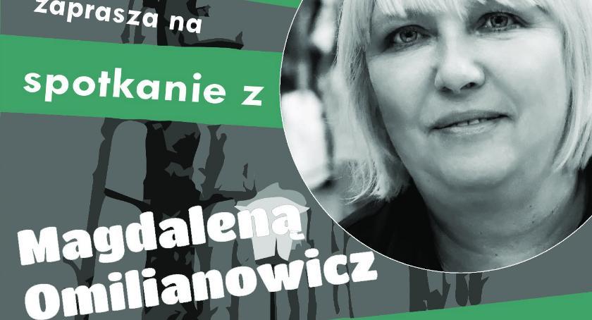 Spotkania, Spotkanie autorskie dziennikarką Magdaleną Omilianowicz - zdjęcie, fotografia