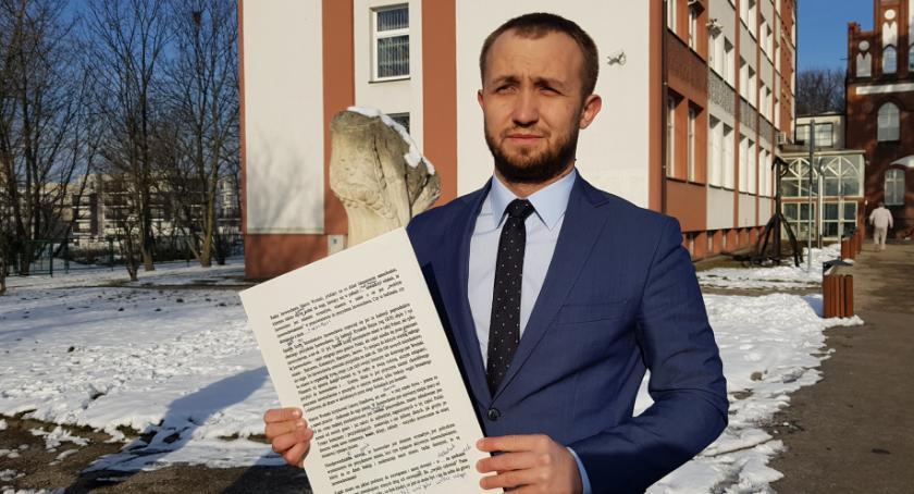 Samorząd, Radny Szota Prezydent Ryszard Brejza kłamie - zdjęcie, fotografia