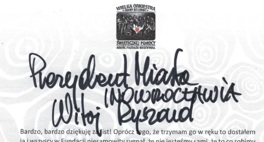 WOSP, Owsiak odpowiedział prezydentowi - zdjęcie, fotografia