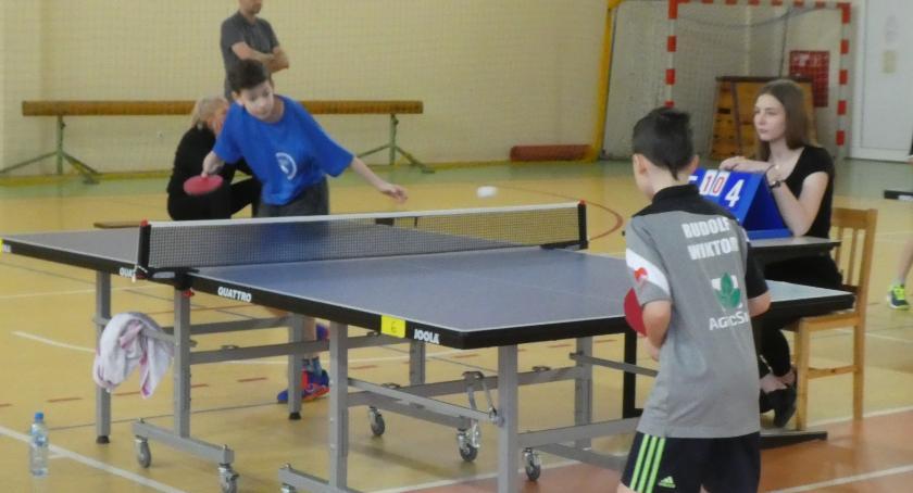 Tenis stołowy, Wielki sukces tenisistów stołowych Czwórki - zdjęcie, fotografia