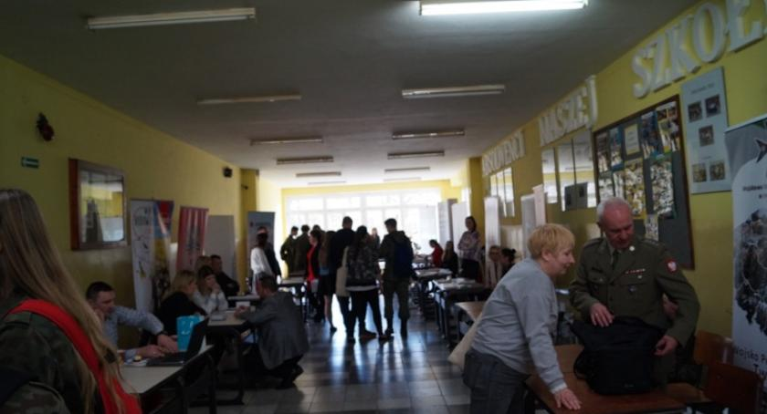 ponadgimnazjalne, Dzień Kariery Kościelcu - zdjęcie, fotografia
