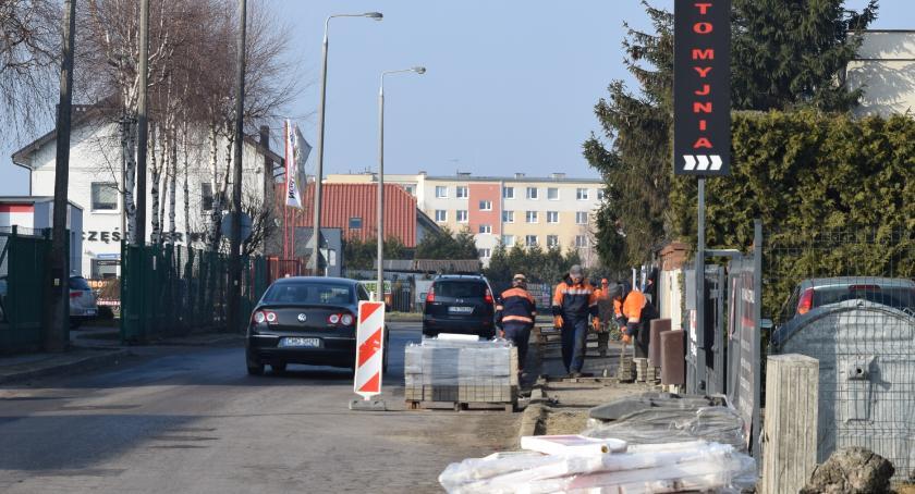 Samorząd, Ruszyła przebudowa Cichej - zdjęcie, fotografia