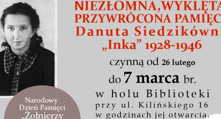 """Wystawy, Wystawa Danucie Siedzikównie """"Ince"""" - zdjęcie, fotografia"""