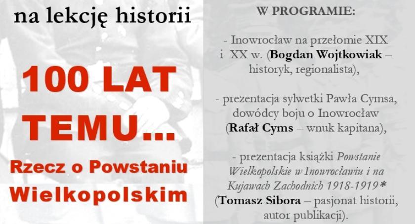 Historia, Rzecz Powstaniu Wielkopolskim - zdjęcie, fotografia