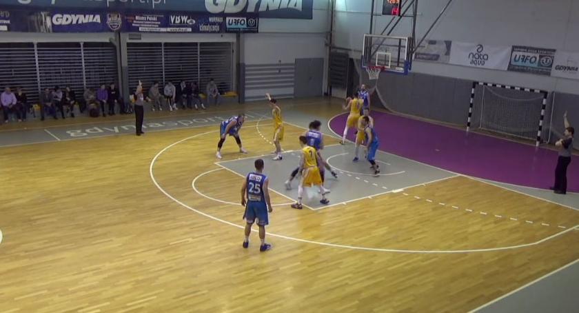 Koszykówka, Noteci przegrywa ostatniej sekundzie meczu - zdjęcie, fotografia