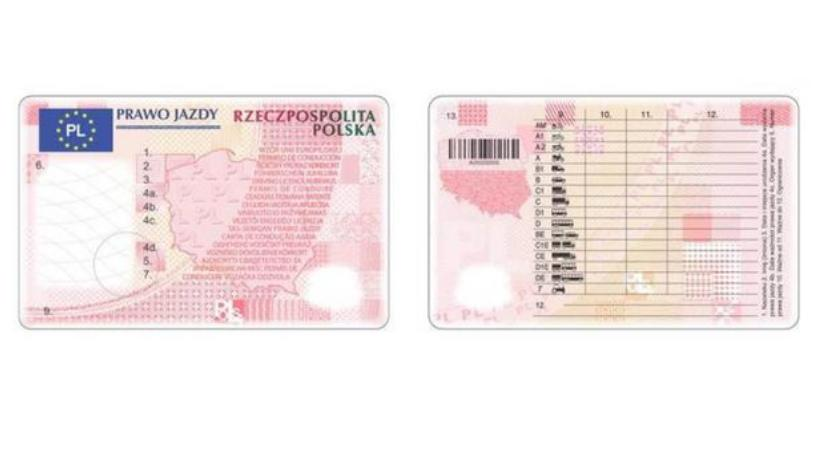 Samorząd, wzór prawa jazdy adresu - zdjęcie, fotografia