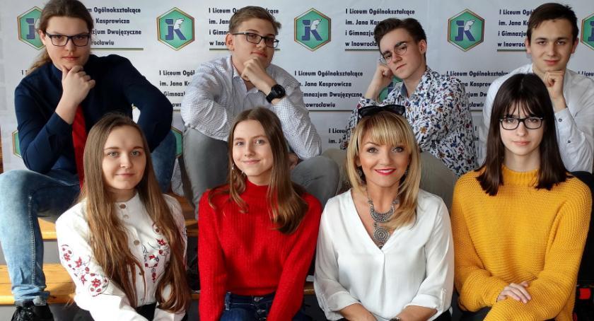 ponadgimnazjalne, Rewelacyjny sukces gimnazjalistów Kaspra! - zdjęcie, fotografia