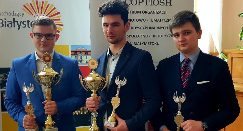 ponadgimnazjalne, Kolejny wielki sukces uczniów Kaspra! - zdjęcie, fotografia