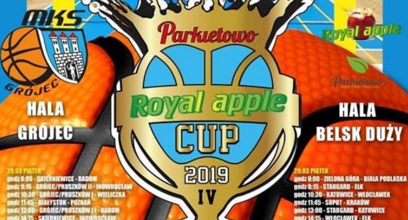 Koszykówka, Kasper zagra PARKIETOWO ROYAL APPLE 2019! - zdjęcie, fotografia