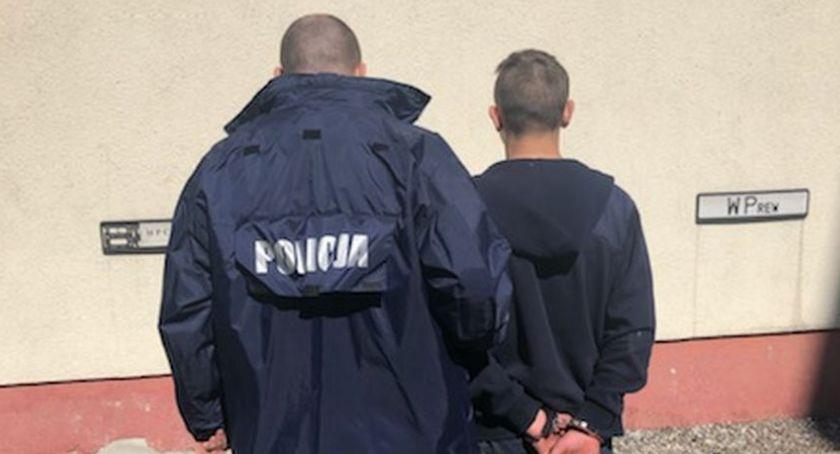 Policjanci z Inowrocławia wykryli rozbój na punkt napraw