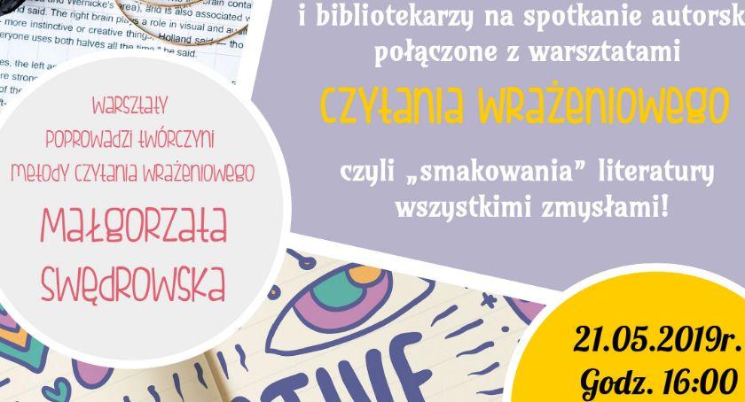 Spotkanie z Małgorzatą Swędrowską