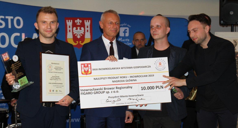 Inowrocławski Browar Regionalny z nagrodą za Produkt Roku