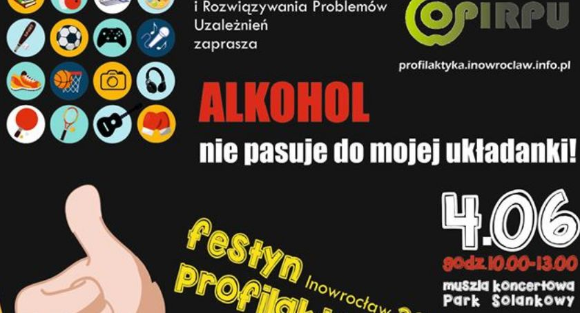 Alkohol nie pasuje do mojej układanki