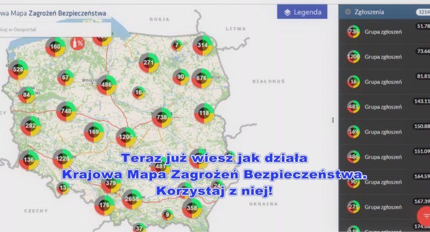 Krajowa Mapa Zagrożeń Bezpieczeństwa - cenne źródło informacji